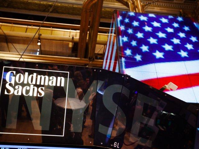 goldman sachs american flag