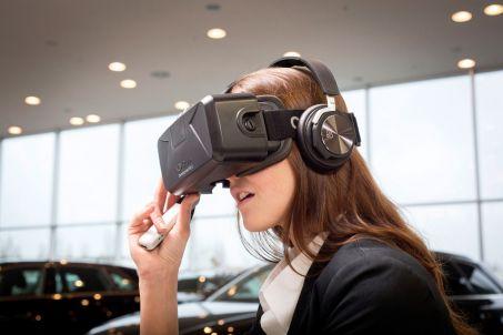 Casque de réalité virtuelle Oculus pour le constructeur automobile Audi