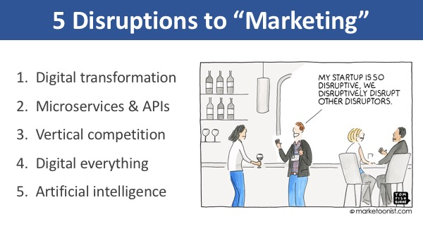 5 Disruptions to Marketing