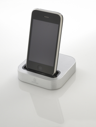 Iomega SuperHero, dock for Apple iPhone and iPod touch, session for Tap Magazine taken on February 8, 2011. (Photo by S