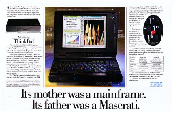ibm thinkpad advertisement