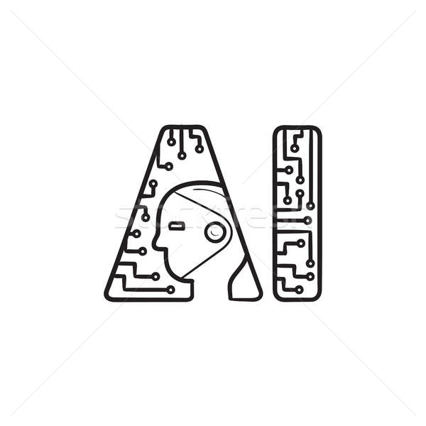 9709062_stock-vector-artificial-intelligence-logo-hand-drawn-outline-doodle-icon